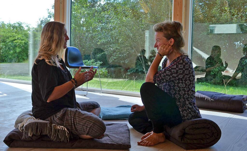 Kirsten og Heidi