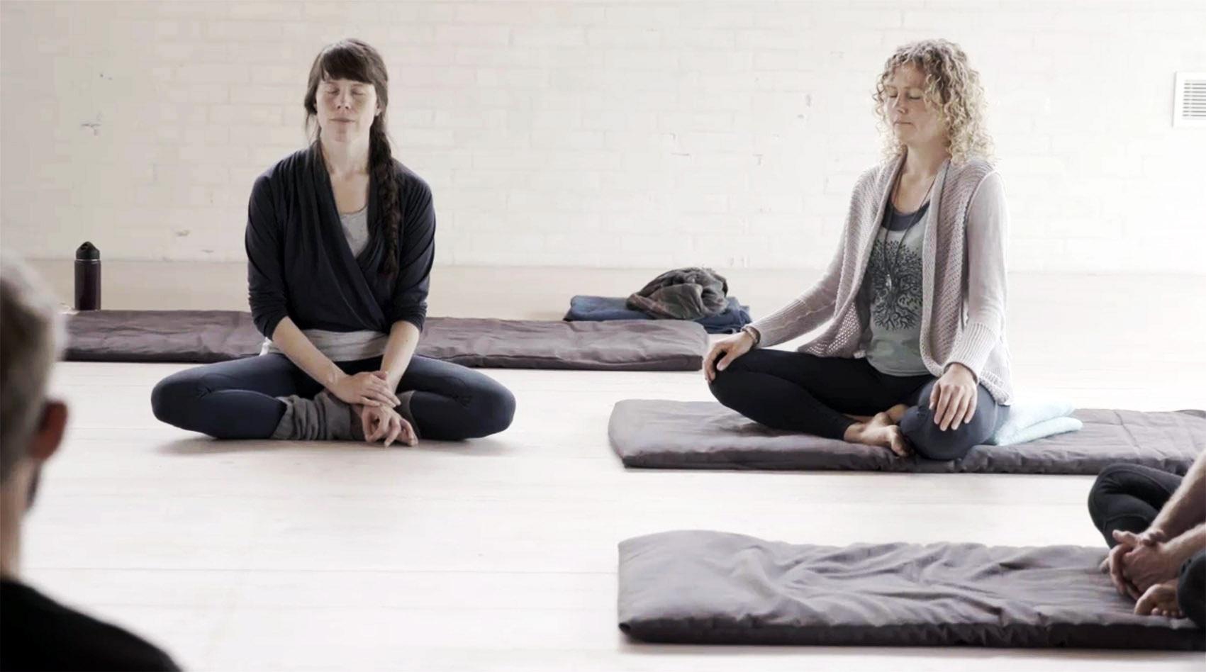 Bilde til meditation på åndedræt og krop