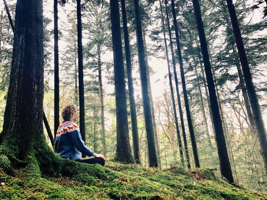 Aktuelt på Kontemplations blog:  'TILBAGE TIL NATUREN'  af Celinah Malue Jakobsen